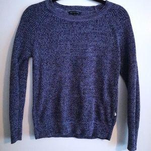 Purple American Eagle Raglan Sweater